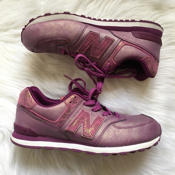 7b90906d325dd New Balance Shoes | 574 Purple Mineral Glow Sneakers Y6 | Poshmark